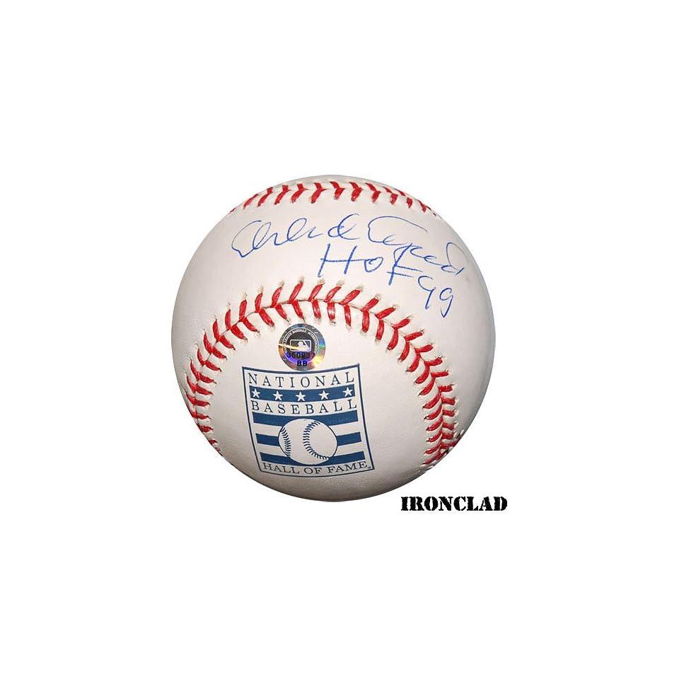 Ironclad San Francisco Giants Orlando Cepeda Signed Hof Baseball W/ Hof 99 Inscription