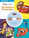 3-in-1 Read-Along Storybook and CD: Disney Pixar Rip-Roaring Adventures