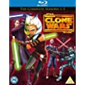 Star Wars-Clone Wars: Season 1-5 [Blu-ray] [Import]