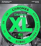 D'Addario ECB80×2SET フラットワウンド エレキベース弦