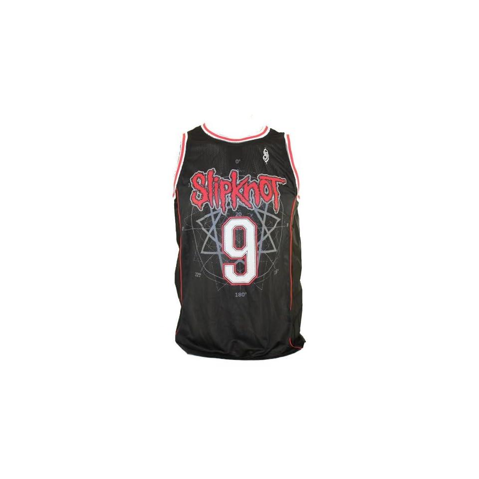Slipknot Men/'s  Basketball  Jersey Black
