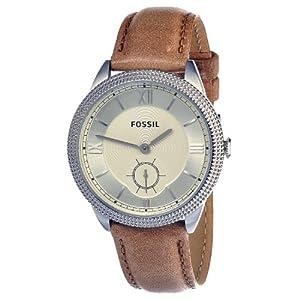 Fossil Women's ES3066 Sydney Light Brown Leather Strap Watch