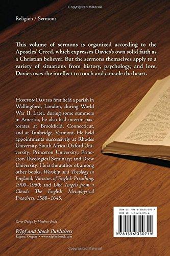 Believing: Sermons by Horton Davies