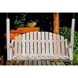 Lakeland Mills CF75 Country Porch Swing, 5'