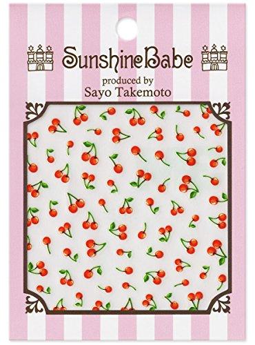 SunshineBabe ネイルシール チェリー