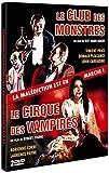 echange, troc Club des monstres / Le cirque des vampires - Coffret 2 DVD
