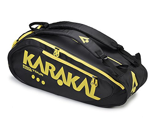 KARAKAL Pro Tour Comp 9 Schlägertasche, Naturell, Einheitsgröße