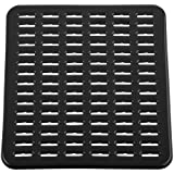 InterDesign Syncware Sink Mat, Small, Black
