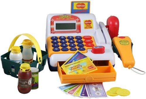 Deluxe Electronic Cash Register Playset
