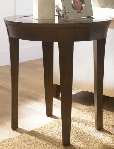 Image of Urban Flair Oval End Table by Hammary - Umber (T2006636-00) (T2006636-00)