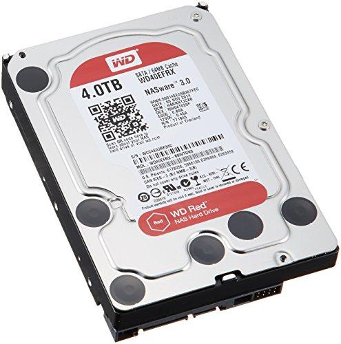 WD HDD 内蔵ハードディスク 3.5インチ 4TB Red  WD40EFRX / 5400rpm / SATA 6Gb/s / 3年保証