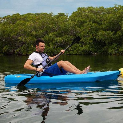90172 Lifetime Lotus Kayak with Paddle and Backrest (Set of 2)