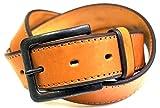 (ラングラー) Wrangler ベルト メンズ 日本製 革 レザー ステッチ レザー Free