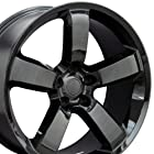 20-inch Fits Dodge - Charger SRT Aftermarket Wheels - Black 20x9 - Set of 4