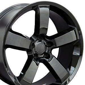 Charger SRT Style Wheel Fits Dodge - Black 20x9