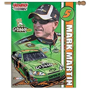 Mark Martin 5 NASCAR Outdoor Vertical House Flag by WinCraft