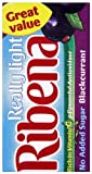 Ribena Really Light Blackcurrant Drink 288 ml (Pack of 27)