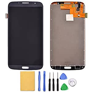 Greleaves LCD Digitizer Assembly with Tools - Touch Screen Glass Panel+LCD Display Panel Replacement for Samsung Galaxy Mega 6.3 i9200 i9205 i527 L600 (blue)