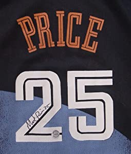 Mark Price Cleveland Cavaliers Autographed Black #25 Jersey by Sports-Autographs