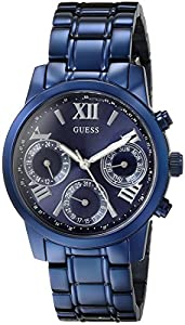 GUESS Women's U0448L5 Analog Display Quartz Blue Watch