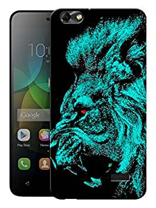 "Humor Gang Almighty Lion Printed Designer Mobile Back Cover For ""Huawei Honor 4C"" (3D, Matte, Premium Quality Snap On Case)"