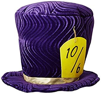 Rasta Imposta Alice Mad Hatter, Purple, One Size