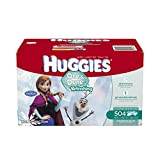 Huggies One and Done Refreshing Baby Wipes,Cucumber & Green Tea, Refill, 504 Count (Packaging May Vary)