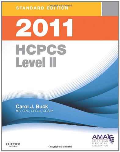 2011 HCPCS Level II: Standard Edition