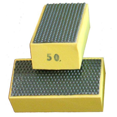 stadea diamond hand polishing pads: Grit 50 (1 Piece)