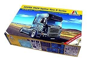 Amazon.com: RCECHO® ITALERI Truck & Trailers Model 1/24 SCANIA R620
