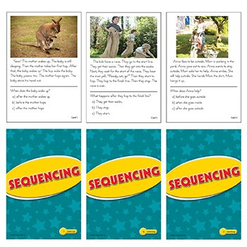 Sequencing Practice Cards Yellow Level