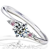 [ミワホウセキ] miwahouseki プロポーズ 婚約指輪 プラチナ 最高の輝きを放つ ダイヤモンド 0.2ct 鑑定書付 11号 [M297PS]