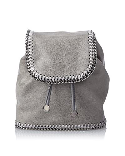 Stella McCartney Women's Shaggy Deer Mini Backpack, Light Grey, One Size