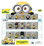 ミニオンズ ミニフィギュア 15ピースセット 怪盗グルー Minions Movie Mini Figurines 15 Piece Set