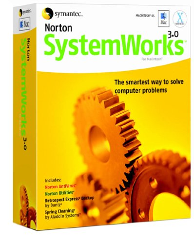 Norton Systemworks 3.0 Mac [AntiVirus, Utilities,