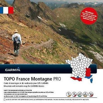 Garmin Topo GPS de randonnée Noir