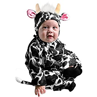 Amazon.com: Infant Farm Animal Baby Cow Halloween Costume