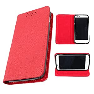DooDa PU Leather Flip Case Cover For Micromax Yu Yureka