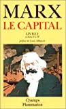 Le Capital, livre I, sections I� IV