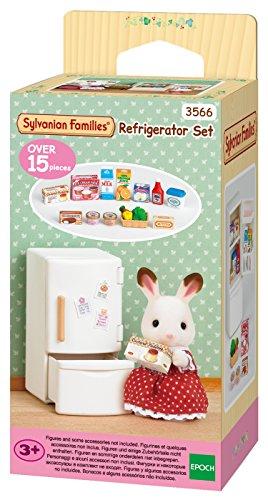 Sylvanian Families - 3566 - Mini-Poupée - Set Réfrigérateur