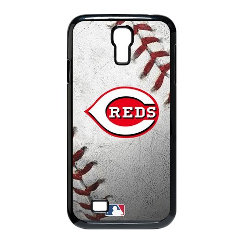 Generic Cell Phone Cases Cover For Samsung Galaxy S4 Case I9500 Case Forever Collectibles Fashionable Designed Baseball Team Cincinnati Reds Background Durable Plastic Shell