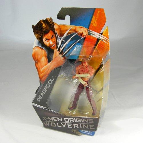 Buy Low Price Hasbro X-Men Origins Wolverine Movie Series 3 3/4 Inch Action Figure Deadpool (No Shirt with Tatoos) (B001UM76MW)