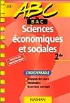 ABC sciences �conomiques et sociales,...