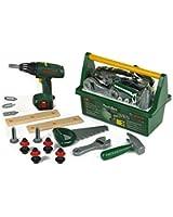 Klein - 8429 - Jeu d'imitation - Caisse à outils Bosch avec visseuse