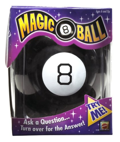 Check Out This Magic 8 Ball