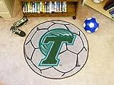 Team Fan Gear Fanmats Tulane University Soccer Ball Size=27″ diameter NCAA-1053