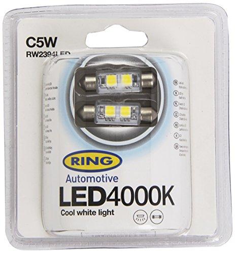 Ring RW2394LED 2 Lampade LED, 12V, C5W 4000K, Bianco