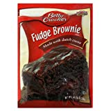 Betty Crocker Fudge Brownie Mix, 10.25-Ounce Pouches (Pack of 18)