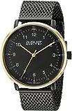 August Steiner Men's AS8091BKG Analog Display Swiss Quartz Black Watch