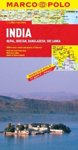 India/Nepal/Bhutan/Bangladesh/Sri Lanka (Marco Polo)